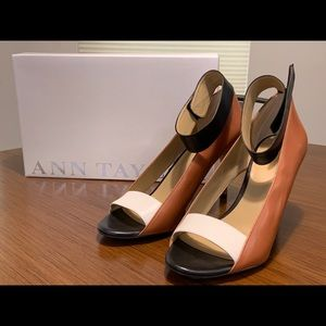 Ann Taylor Rian Heel with Ankle Strap